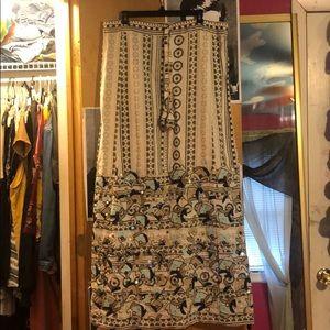 Calypso maxi skirt